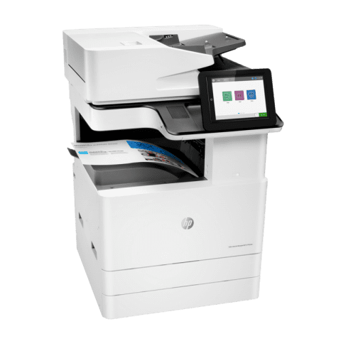 HP Colour LaserJet Managed E77822dn Right View web