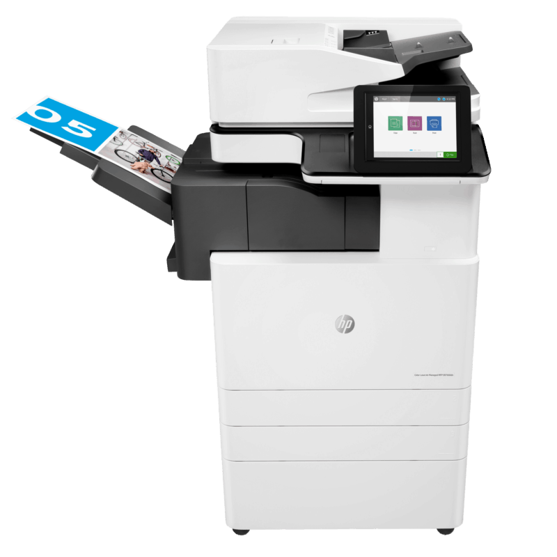 HP Colour LaserJet Managed E87660dn Centre View web