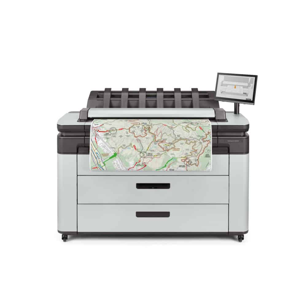 HP DesignJet XL 3600 36-Inch Multifunction Printer Front