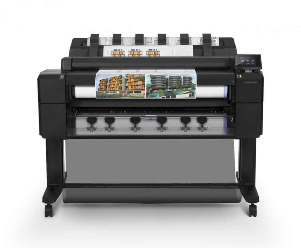 HP Designjet t2500 Front