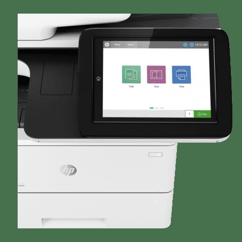 HP LaserJet Managed E52645 Mono A4 Multifunction Printer Detail View web