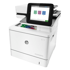 HP LaserJet Managed E57540 Colour A4 Multifunction Printer Left View web