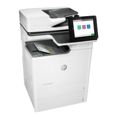 HP LaserJet Managed E67650dh Colour A4 Multifunction Printer Right View web