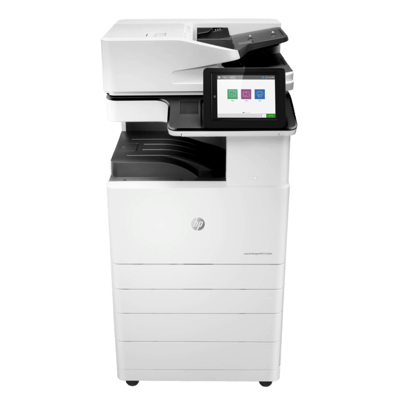 HP Mono LaserJet Managed E72530dn Front View web