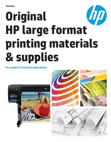 HP Wide Format Brochure